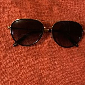 Tiffany and co Rose Gold Sunglasses